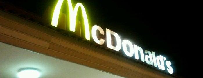 McDonald's is one of 20 favorite restaurants.