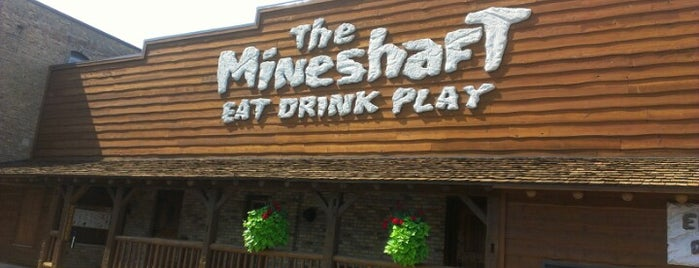 The Mineshaft Restaurant is one of place to be.