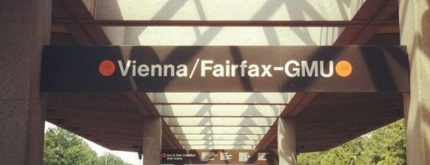 Vienna/Fairfax-GMU Metro Station is one of WMATA Train Stations.