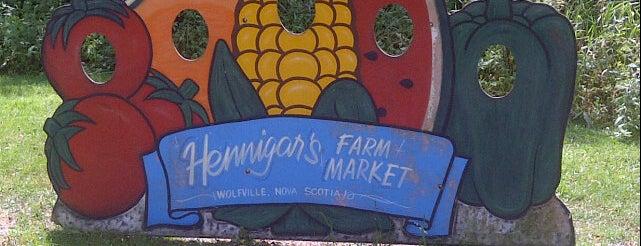 Hennigar's Farmers Market is one of Wanderlust 2013.
