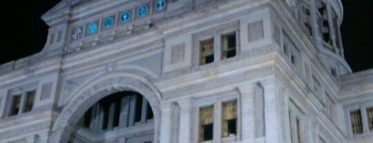 Texas State Capitol is one of The Crowe Footsteps.