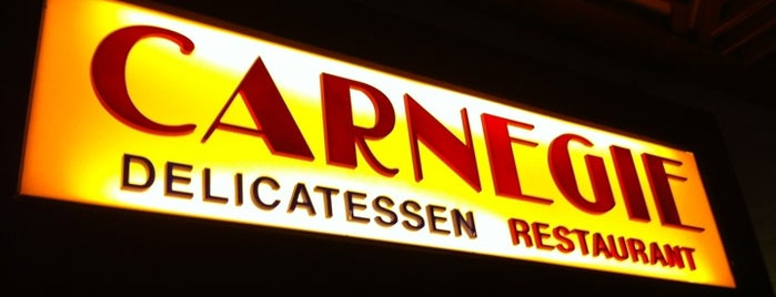 Carnegie Deli is one of Great Places to Eat in Vegas!.