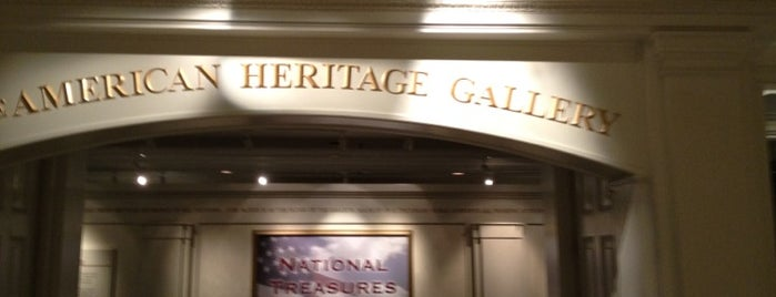 American Heritage Gallery is one of Epcot World Showcase.