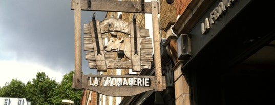 La Fromagerie is one of London.