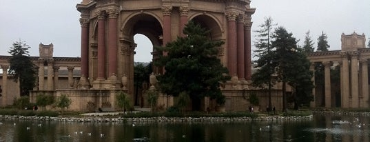 Palace of Fine Arts is one of Sights to See in San Francisco.