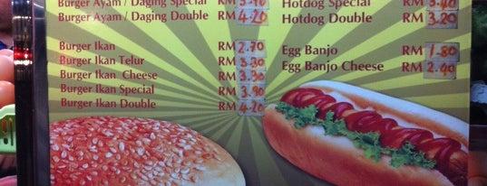 Abang & Adik Burger is one of Makan @ Utara #7.