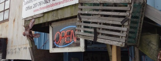 Three Sons Lobster & Fish is one of Awesome Stops in Portland, Maine #VisitUS.