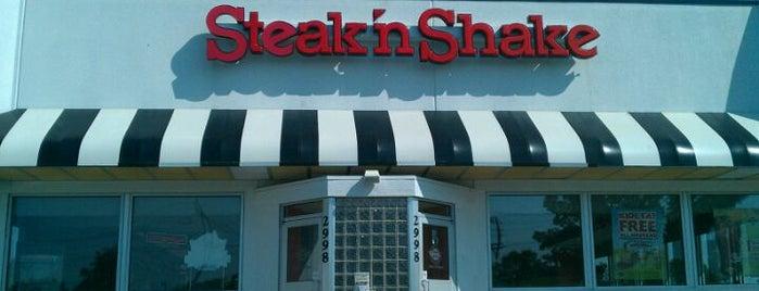 Steak N Shake is one of Best Burger Places.