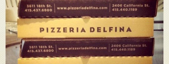 Pizzeria Delfina is one of all time favorite restaurants.