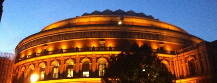 Royal Albert Hall is one of London as a local.