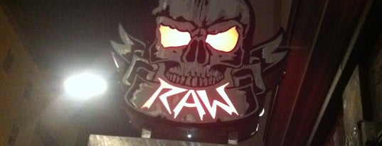 Raw is one of Bars + Restaurants.