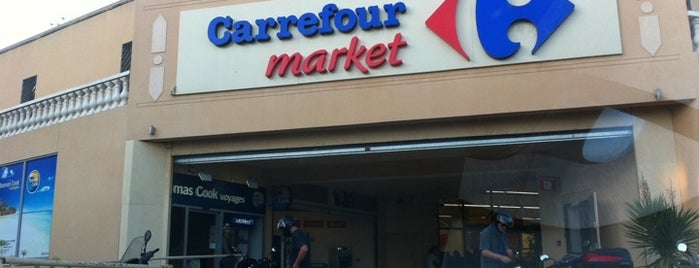 Carrefour Market is one of Ницца.