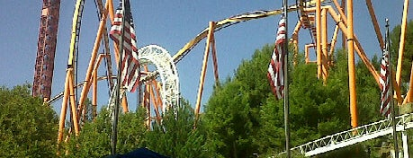 Six Flags Magic Mountain is one of Best Places to Check out in United States Pt 2.