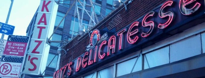 Katz's Delicatessen is one of You Hungry?.