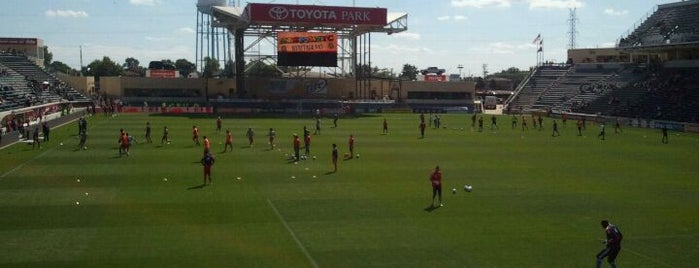 Toyota Park is one of Great Sport Locations Across United States.