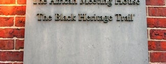 Museum of African American History is one of IWalked Boston's Beacon Hill (Self-guided tour).