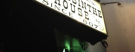 The Old Absinthe House is one of New Orleans To-Do List.