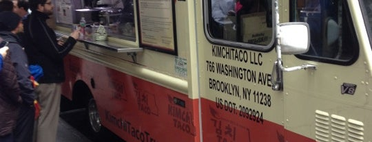Kimchi Taco Truck is one of Favorite Restaurant In NYC.