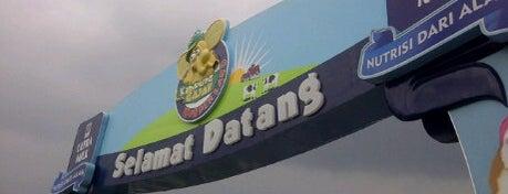 Kampung Gajah Wonderland is one of Bandung Tourism: Parijs Van Java.