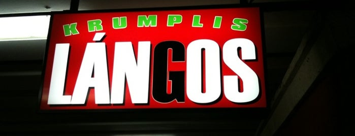Lángosos (Krumplis Lángos) is one of kaja.