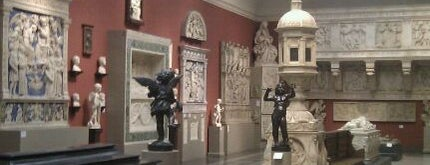 The Pushkin State Museum of Fine Arts is one of moscow museums.