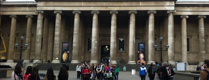 British Museum is one of London as a local.