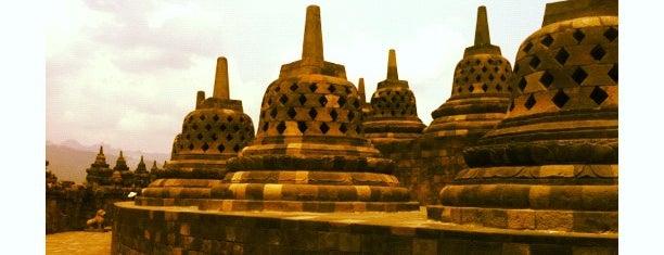Borobudur Temple is one of UNESCO World Heritage Sites (Asia).