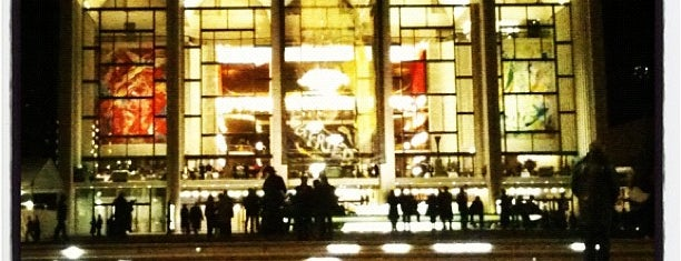 Lincoln Center for the Performing Arts is one of NYC's Upper West Side.