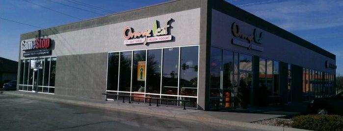Orange Leaf Frozen Yogurt is one of Best places in Ames.