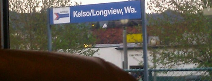 Kelso Amtrak Station Longview (KEL) is one of My Saved Places.