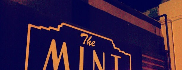 The Mint is one of Venues.