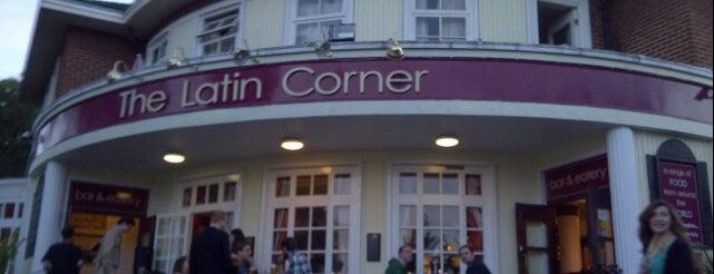 The Latin Corner is one of London bars.