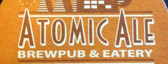 Atomic Ale Brewpub & Eatery is one of WABL Passport.