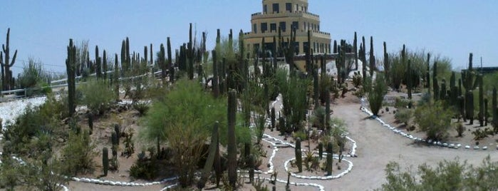 Tovrea Castle At Carraro Heights Is One Of The 15 Best Places With Gardens  In Phoenix