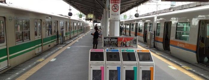 近鉄けいはんな線 生駒駅 is one of 近鉄けいはんな線.