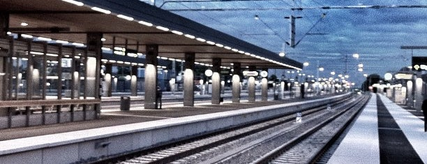 Uppsala Central Station (QYX) is one of Tågstationer - Sverige.