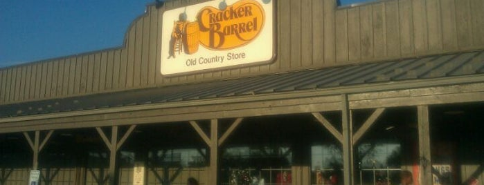 Cracker Barrel Old Country Store is one of My Fav Local Restaurants.