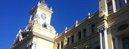 Málaga City Hall is one of Mis lugares favoritos.