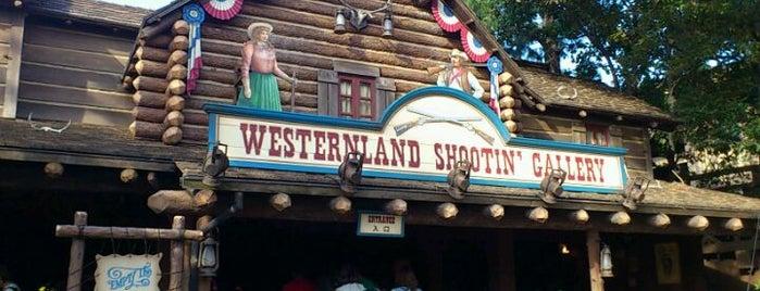 Westernland Shootin' Gallery is one of Disney.