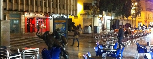 Plaza de Uncibay is one of Málaga #4sqCities.