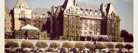 The Fairmont Empress Hotel is one of Bucket List Places.