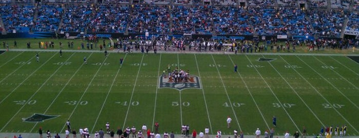 Bank of America Stadium is one of Great Sport Locations Across United States.