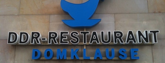 DDR-Restaurant Domklause is one of Berlin.