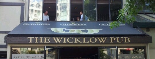 The Wicklow Public House is one of Vancouver.