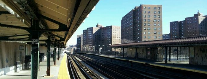 """MTA Subway - 225th St/Marble Hill (1) is one of """"Be Robin Hood #121212 Concert"""" @ New York!."""