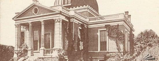 Cincinnati Observatory Center is one of Surviving Historic Buildings in Cincinnati.