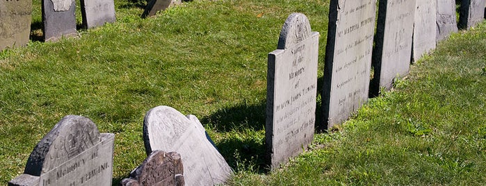 King's Chapel Burying Ground is one of Paranormal Traveler.