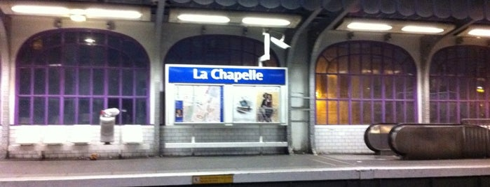 Métro La Chapelle [2] is one of Métro de Paris.