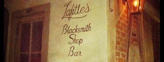 Lafitte's Blacksmith Shop is one of New Orleans To-Do List.