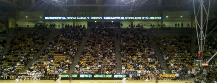 Coors Events Center is one of Basketball Arenas of the Pac-12.